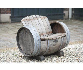 "Wine barrel chair ""Brandy"""