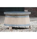 "Wine barrel table ""Merlot"""
