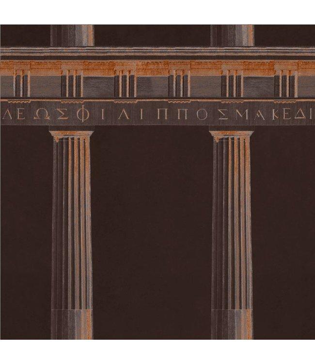 MIND THE GAP Athena Copper Wallpaper