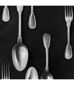 MIND THE GAP Cutlery Silver