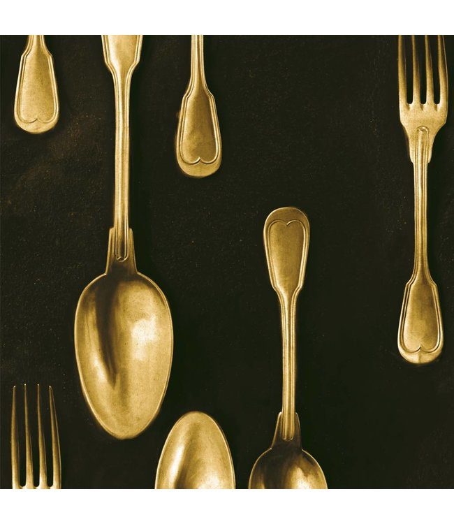 MIND THE GAP Cutlery Brass