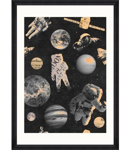 MIND THE GAP Astronauts Print