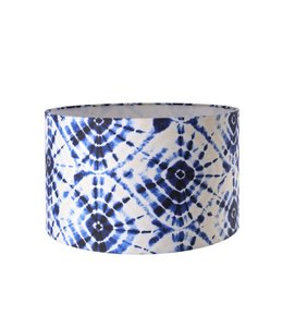 MIND THE GAP Shibori Swirls Table Lamp Shade 35cm