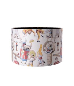 MIND THE GAP Asian Circus Table Lamp Shade 35cm