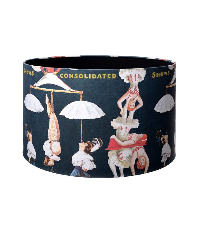 MIND THE GAP The Great Show Table Lamp Shade Black 45cm