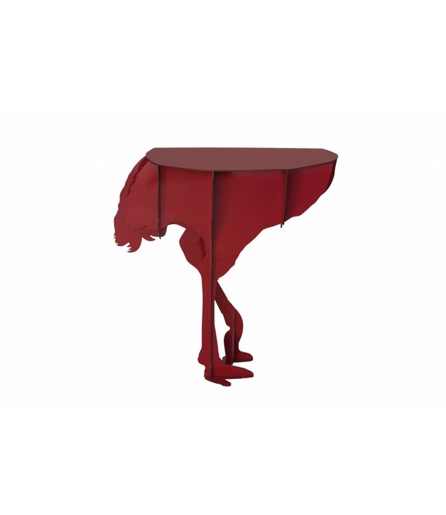 Diva Red Console Table