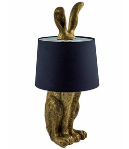 M&R Gold Rabbit Ears Lamp TL77