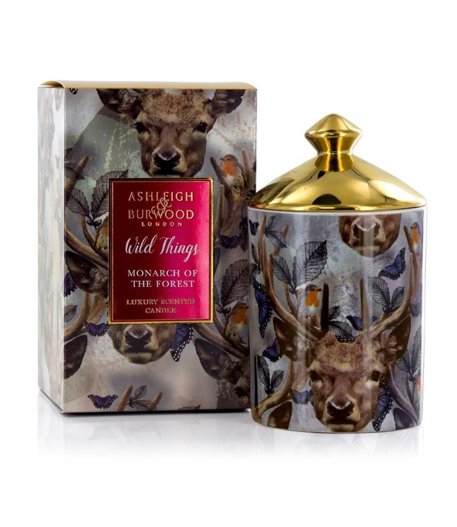 Ashleigh & Burwood Wild Things Monarch of the Forest Candle