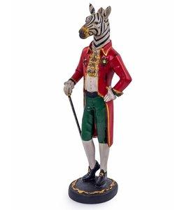 M&R Standing gentry zebra