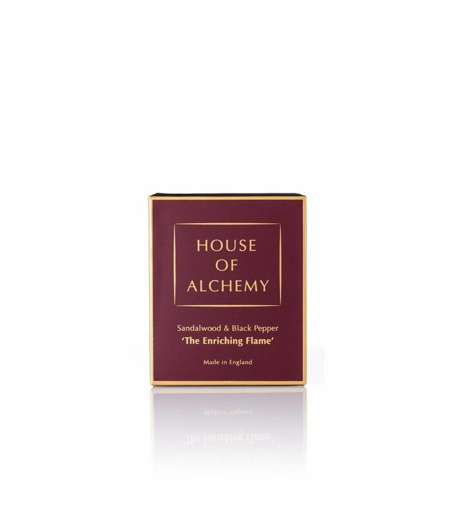 House of Alchemy The Enriching Flame - Sandalwood & Black Pepper