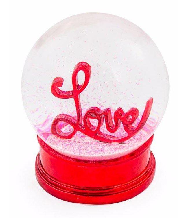 M&R Love Snow Globe