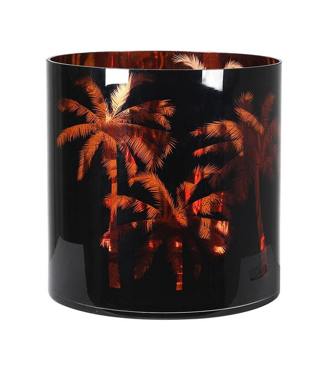Palm Tree Hurricane Jar XL