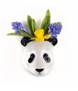 Quail Panda Wall Vase - Mini