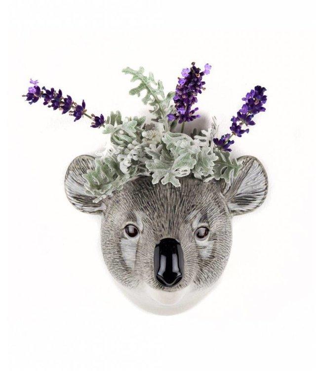 Quail Koala Wall Vase - Mini