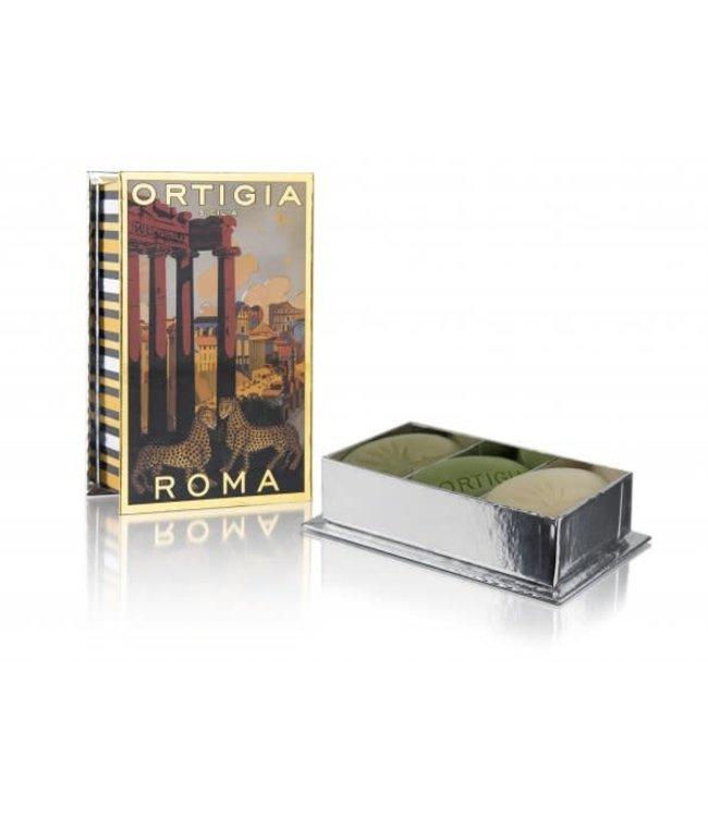 Ortigia Roma Soap x3