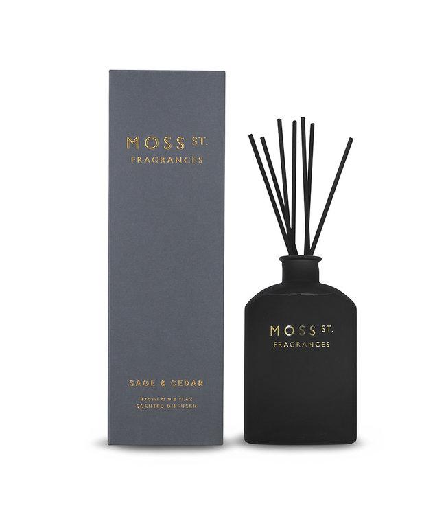 Moss St Sage & Cedar Diffuser