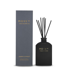 Moss St Suede & Violet Diffuser