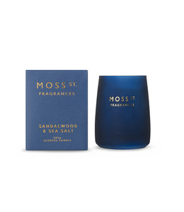 Moss St Sandalwood & Seasalt Candle 320g