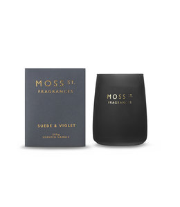 Moss St Suede & Violet Candle 320g