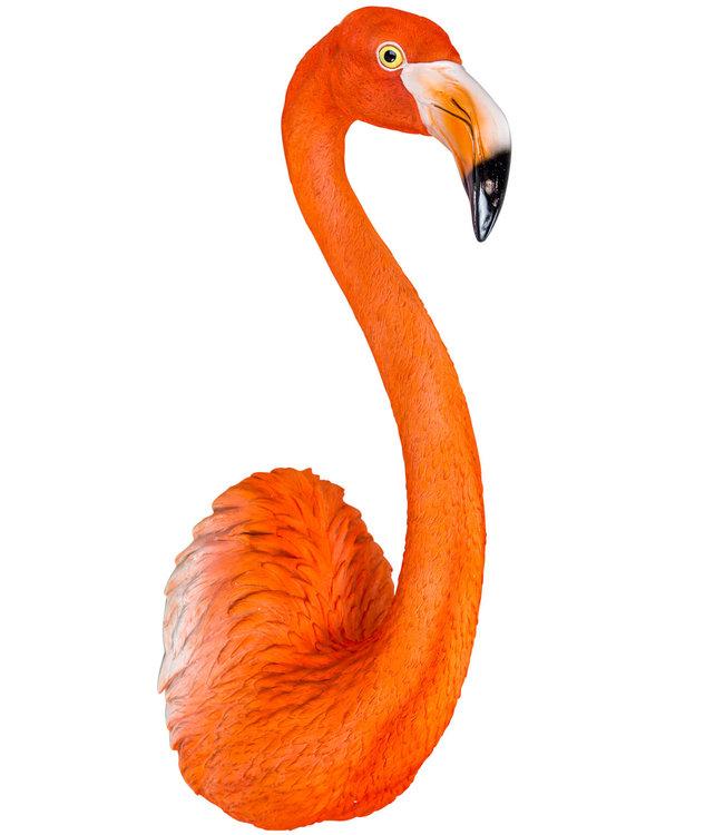 Lifesize Flamingo Wall Head