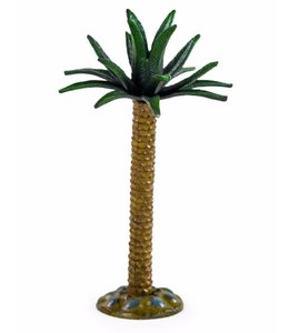 M&R Cast Iron Large Palm Tree Candlestick