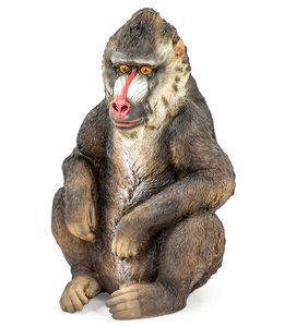 M&R Sitting Baboon Figure