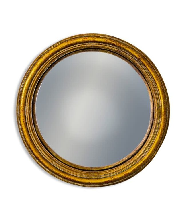 M&R Gold Medium Convex Mirror