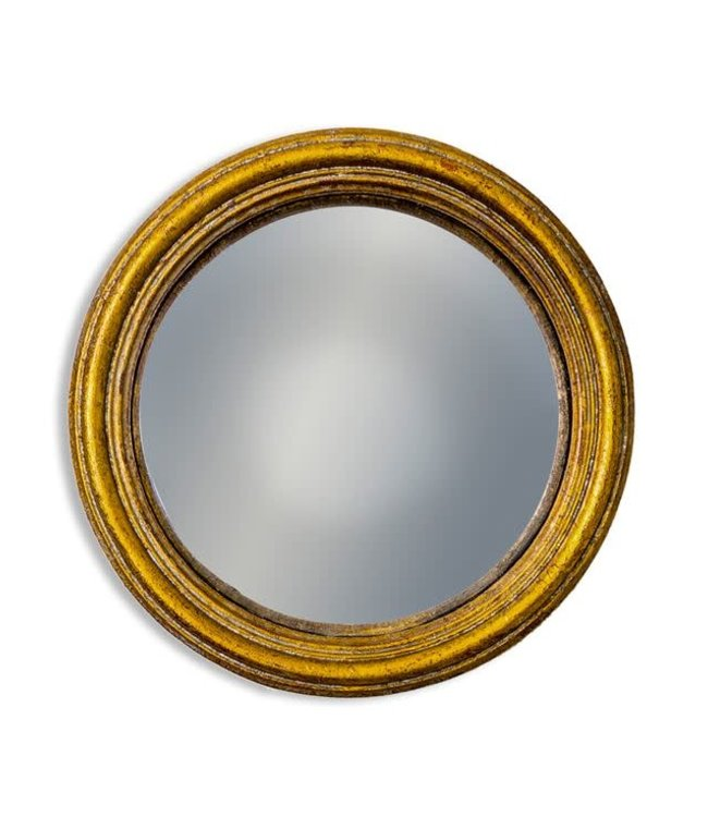 M&R Gold Small Convex Mirror