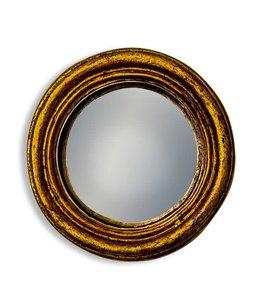 M&R Gold Extra Small Convex Mirror