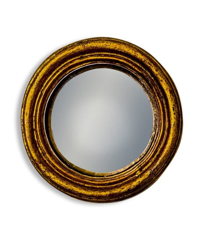 M&R Gold Extra Small Convex Mirror