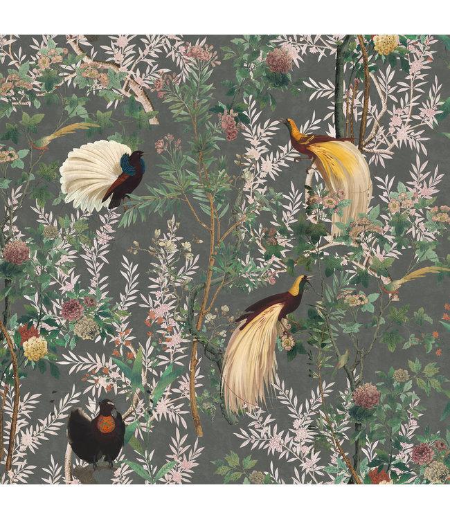 MIND THE GAP Royal Garden Grey Wallpaper