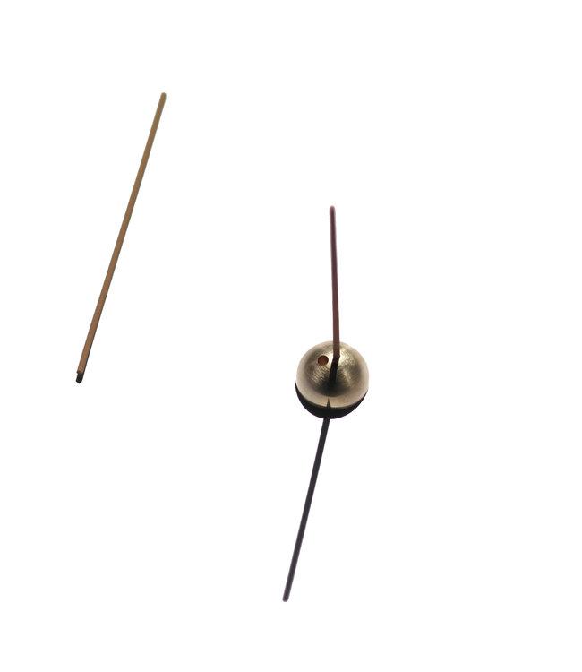 Ume Dome Incense Holder - Gold