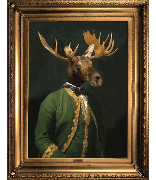 Lord Montague framed canvas print