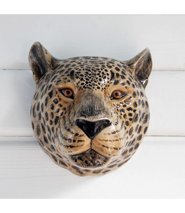 Quail Leopard Wall vase
