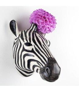 Quail Zebra Wall Vase