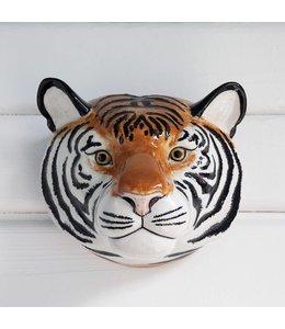 Quail Tiger Wall vase