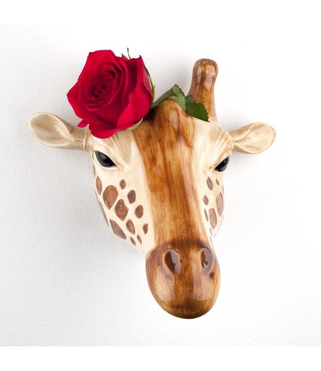 Quail Giraffe Wall vase