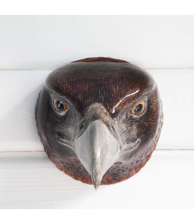 Quail Eagle Wall Vase