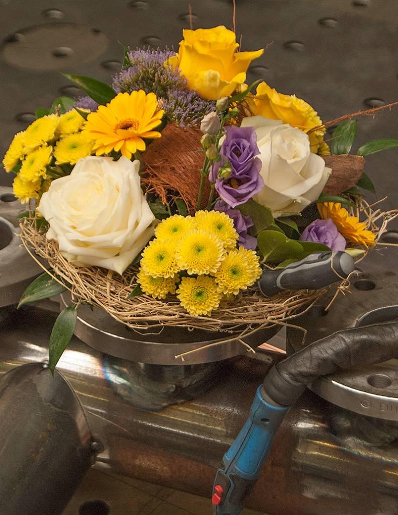 """Blumenstrauß """"Handwerker"""""""