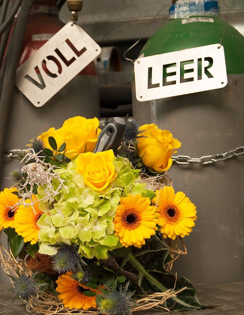 """Blumenstrauß """"Metaller"""""""