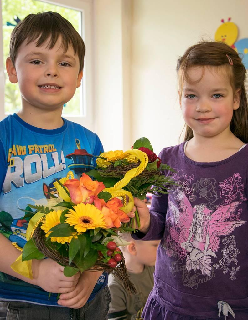 """Blumenstrauß """"Mutter & Kind"""""""