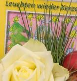 """Blumenstrauß """"Leuchten wieder Kerzen"""" - Musik-Strauß"""