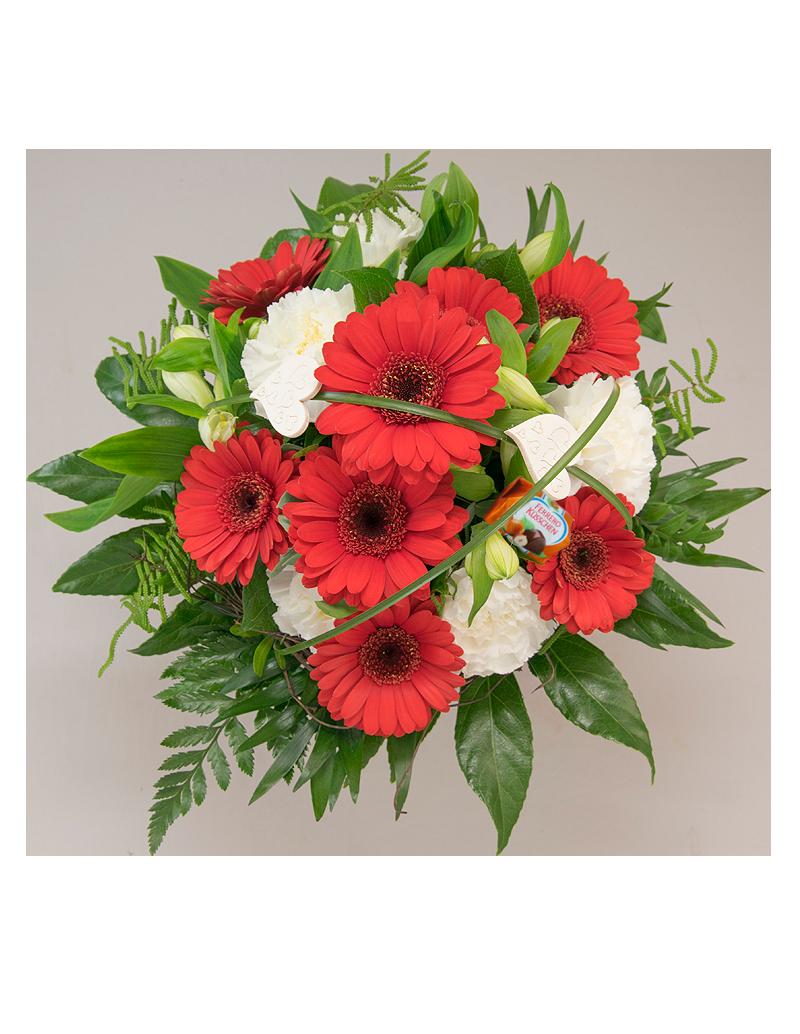 """Blumenstrauß """"Schneewittchen"""""""