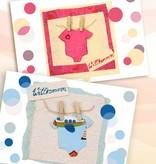Grußkarten zur Geburt (Mädchen/Junge angeben)