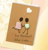 Hochzeitskarte mit florafinesse versenden