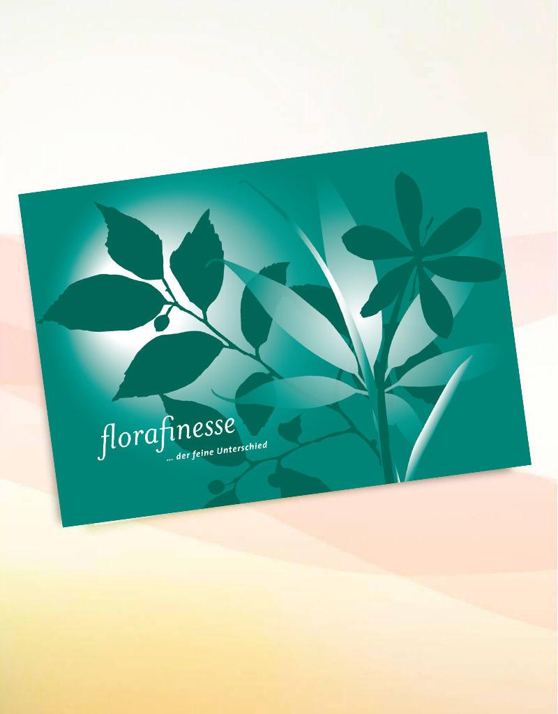 Grußkarte mit florafinesse versenden