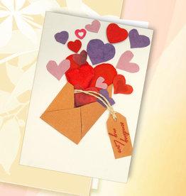 """Grußkarte - Motiv """"Liebesbrief"""""""