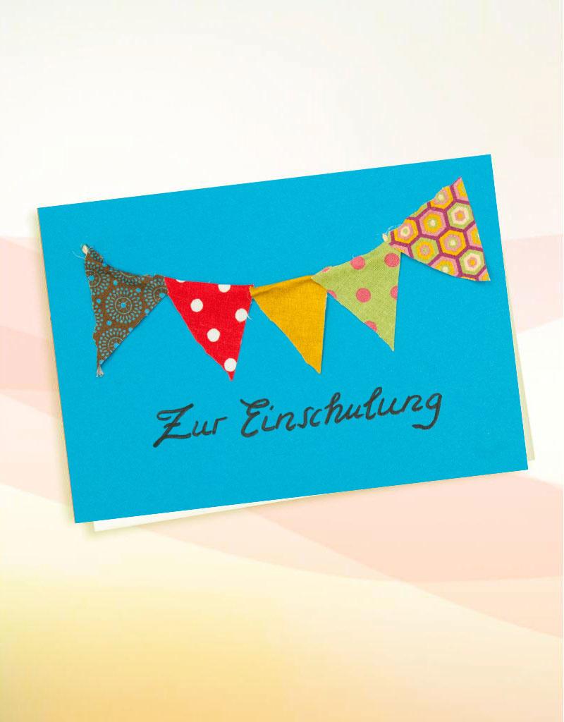 """Grußkarte - """"Schulanfang"""""""