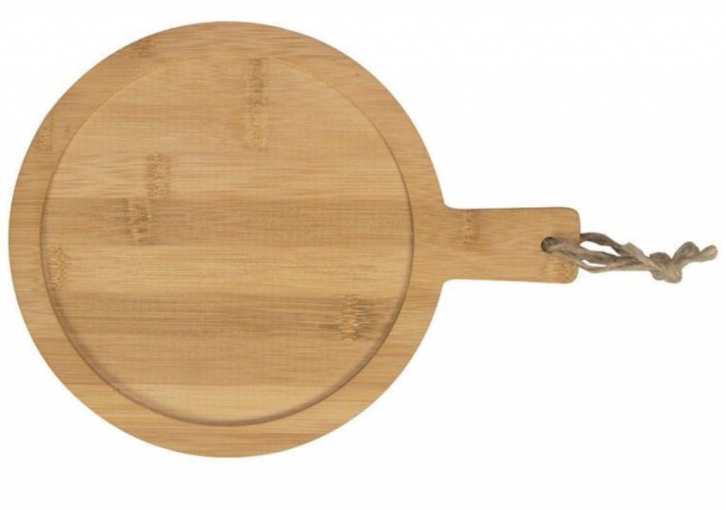 Gusta Gusta Multi Serveer Paddle Bamboe 20 cm