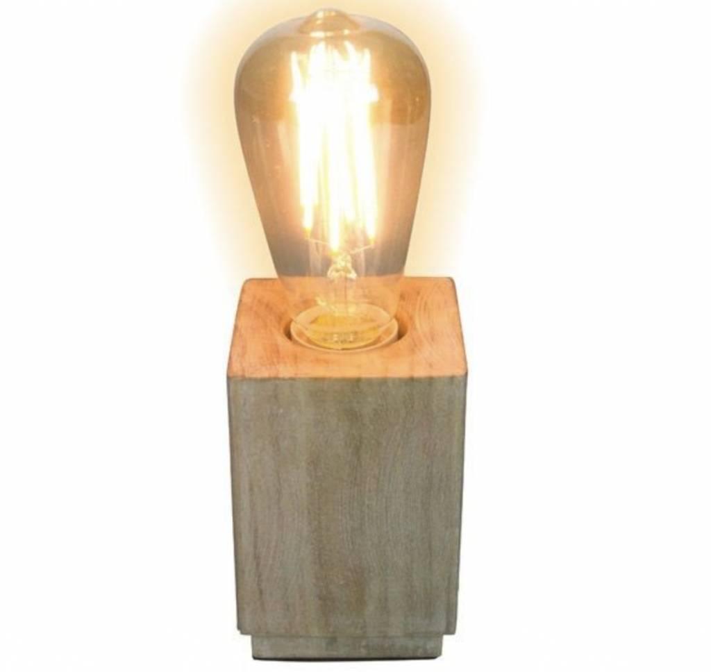 Gusta Gusta Houten Vintage Lamp